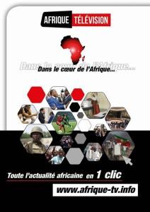 AFRIQUE TELEVISION, dans le coeur de l'Afrique