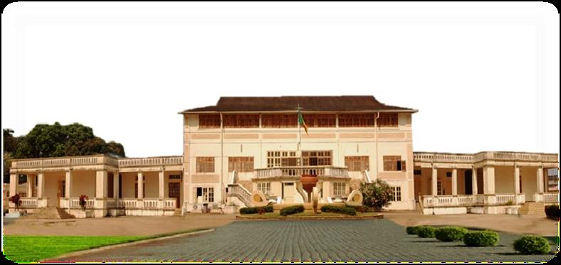 Le siège de l'Assemblée nationale du Bénin