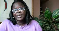 Juliette Koudenoukpo ancien ministre de l'environnement dans le gouvernement de Boni Yayi