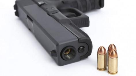 Pistolet et cartouches