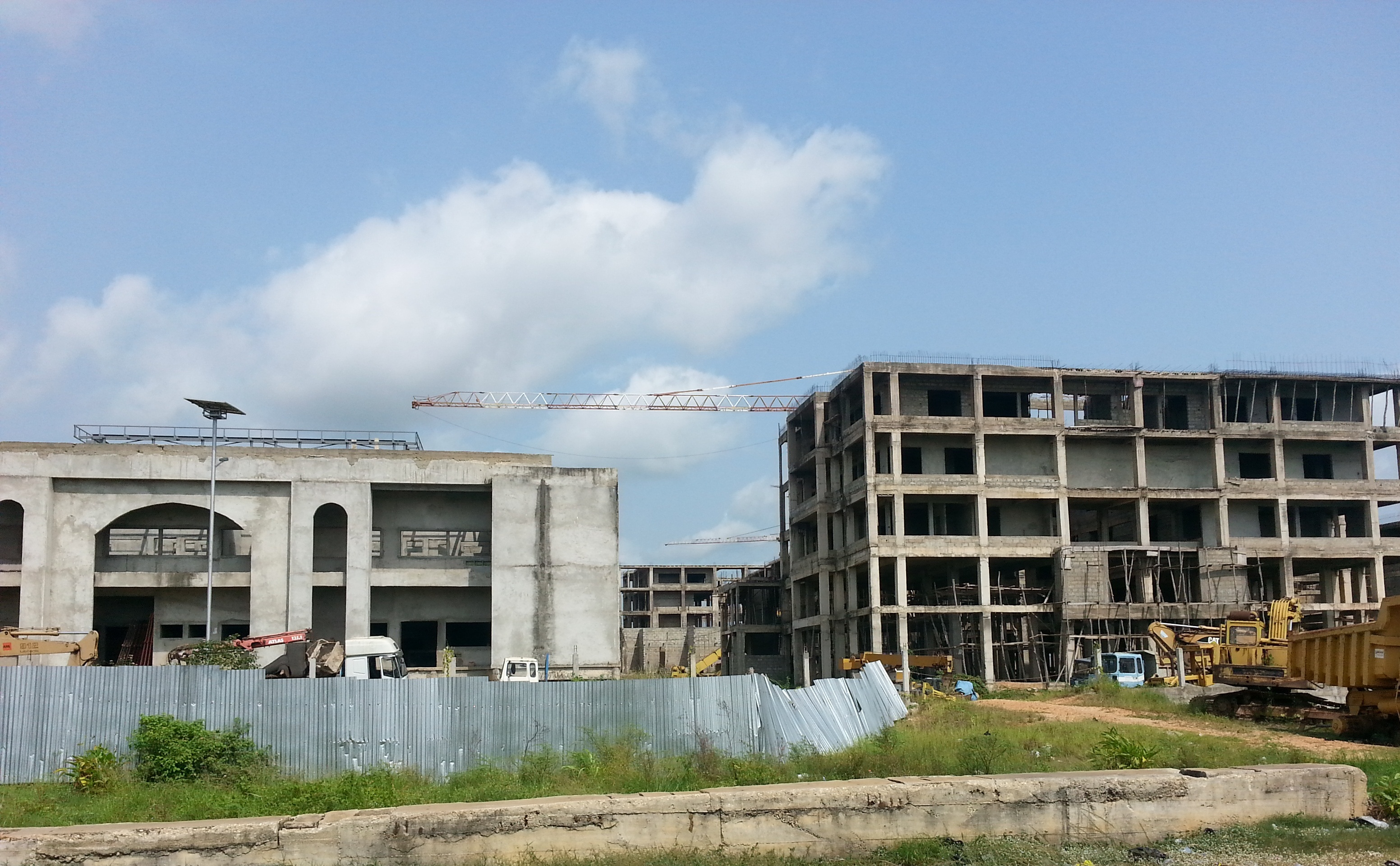 Chantier Assemblée-nationale-du-Bénin