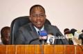 Me Adrien Houngbédji, président de l'Assemblée nationale