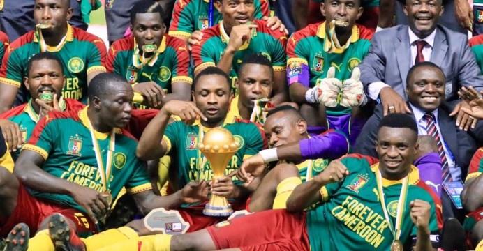 Le Cameroun vainqueur de la CAN pour la 5ème fois de son histoire