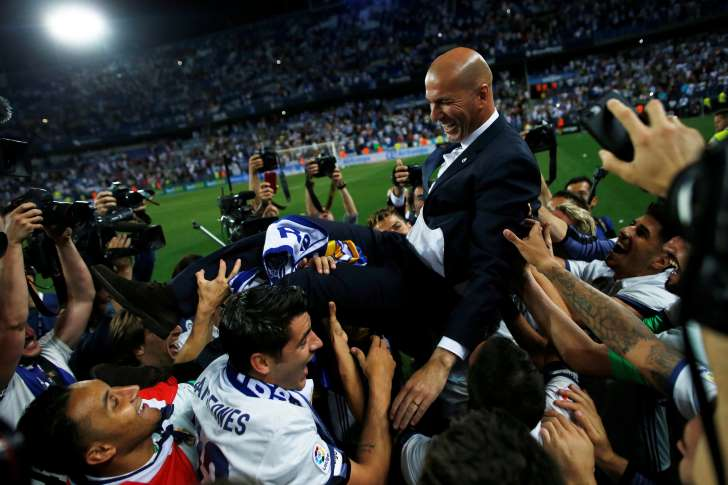 33ème titre de champion d'Espagne pour le Real: Pourquoi le sacre de Zidane est une performance inédite