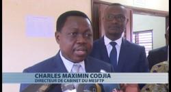 Charles Codjia, DIRECTEUR DE CABINET DU MINISTRE DES ENSEIGNEMENTS SECONDAIRE, TECHNIQUE ET DE LA FORMATION PROFESSIONNELLE