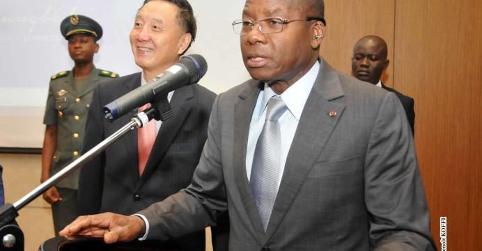 Le Président Adrien Houngbédji au lancement de sa Fondation pour le Numérique et la Jeunesse