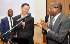 BREVE: La Chine appuie la Fondation Adrien Houngbédji