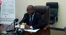 Le Ministre de l'enseignement secondaire, technique et de la formation professionnelle, Lucien KOKOU