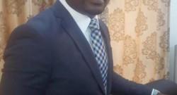 Le directeur de l'UNACEB, Edgard Romaric Akpovo