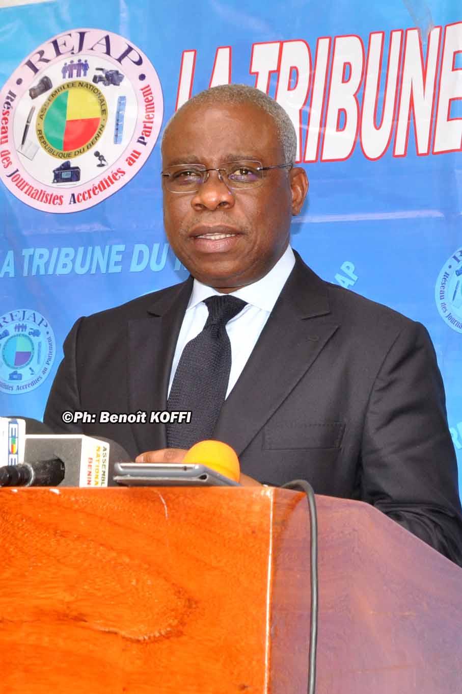 José Tonato, le Ministre du cadre de vie et du développement durable
