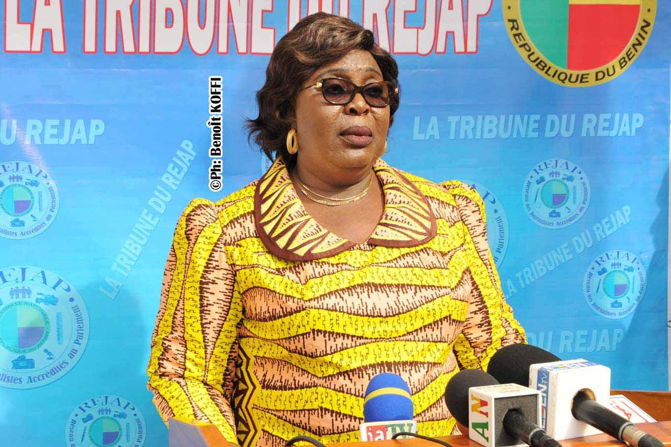 Adidjatou Mathys , Ministre du Travail et de la Fonction Publique