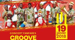 les fanfares WHENDOXO  du Bénin et GROOVE CATCHERS de la France