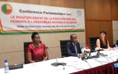 Meilleure représentativité des femmes au Parlement : La 1ère Dame et le Président de l'Assemblée nationale s'y engagent