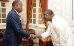 Palais des gouverneurs : L'Unamab, l'Organe Consultatif de la jeunesse, l'Association des grandes Ecoles, Instituts et Universités privés et le patronat des START-UPS du Bénin au cabinet du président Houngbédji