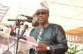 Le Bâtonnier Jacques Migan, Pdt du Front des Républicains pour le Développement de la ville de Porto-Novo (FRD),