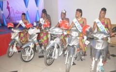 11ème Edition de l'élection Miss Estudiantine Bénin 2018:  Farhath Toukourou sacrée miss, Arielle Sègbèmon,  Corinne Adjaho,  Faouziath Aguidi et Marlyse Ahouangbévi 1ère, 2ème, 3ème et 4ème Dauphine