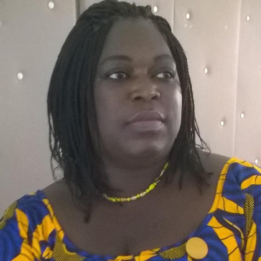 Pulchérie Gbemenou, coordonnatrice de la cellule des Femmes de l'Union des professionnels des Médias du Bénin,