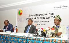 L'essentiel à retenir du Séminaire parlementaire sur la réforme du Code électoral