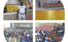 Finale coupe du monde Russie 2018 au siège du PRD à Porto-Novo : Belmus Djidossi Alfred a gagné le pari de la mobilisation autour du grand écran