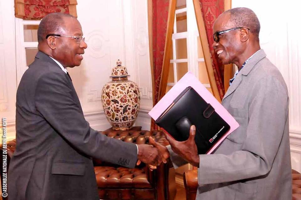 Timothée Adanlin, vice-président de l'Association nationale des anciens parlementaires du Bénin au cabinet du Président Houngbedji