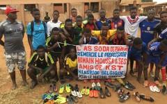 Bénin/Don de matériels sportifs : KST Haasrode de la Belgique vole au secours de F. C. SODAS  du Benin