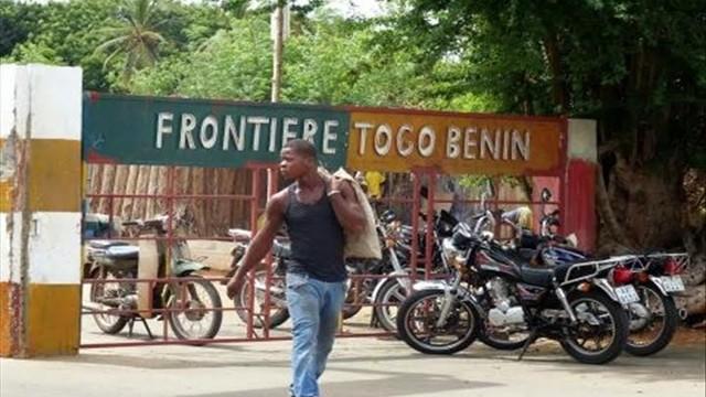 Frontière-Togo-Bénin