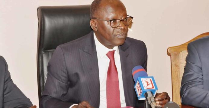 Ministre d'Etat chargé du Plan Abdoulaye Bio Tchané