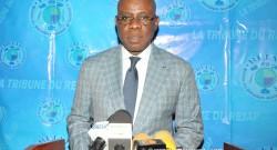 Le Ministre José Didier Tonato en charge du Cadre de Vie et du Développement Durable