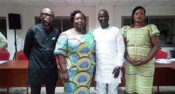 Les membres du nouveau Bureau du Sénat JCI-Benin