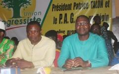 La 20ème circonscription célèbre  les députés Ahouanvoebla et Agbodjèté sous les couleurs de l'Union Progressiste
