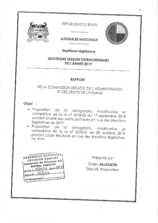 Etude des propositions de lois électorales dérogatoires: La commission des Lois s'en remet à la plénière