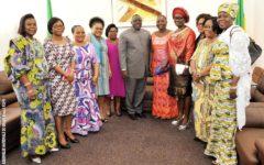 Reçues en audiences par le président de l'Assemblée nationale : Les femmes progressistes saluent l'élection d'un défenseur des causes féminines à la tête du Parlement