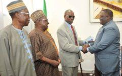 Assemblée nationale : Les Rois du Bénin et les anciens parlementaires au cabinet du président Louis G. Vlavonou